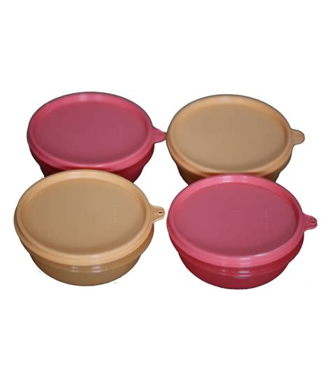Tupperware Bowl tupperware buddy bowls set of 2 bowls of price at flipkart