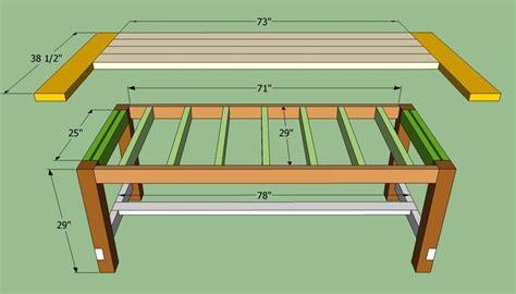 farmhouse bed plans howtospecialist how to build step farmhouse table plans to build how to build a farmhouse