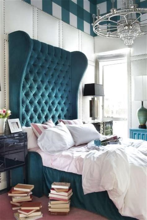 turquoise tufted headboard 17 best ideas about turquoise headboard on pinterest