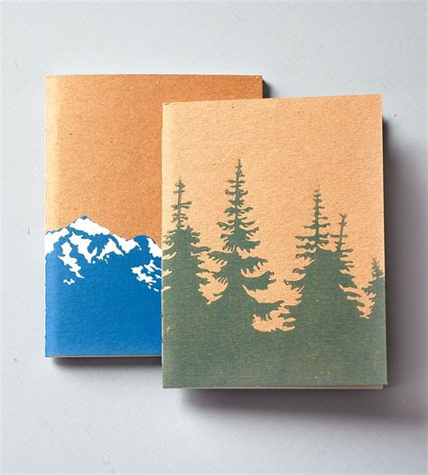 Handmade Notebook - 163 best images about block print ideas on