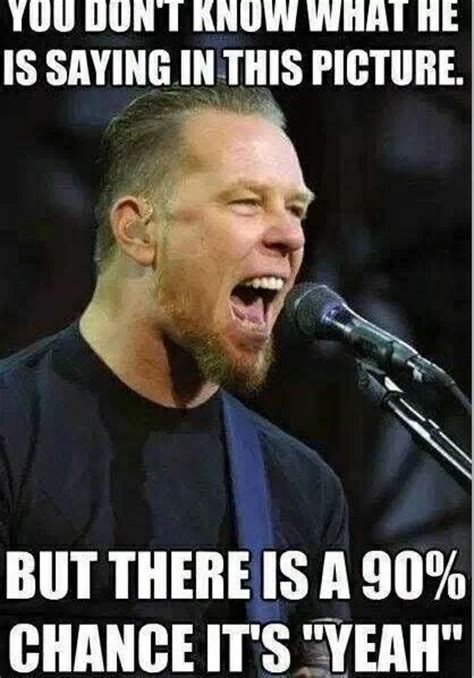 Metallica Memes - metallica meme jameshetfield music pinterest