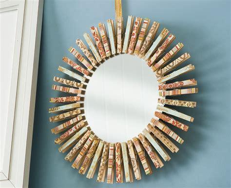 mirror paper craft 15 creative diy mirror frame ideas