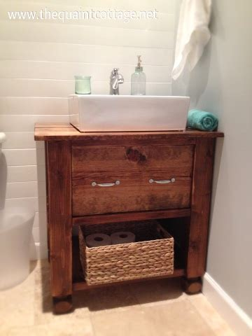diy bathroom sink cabinet remodelaholic diy bathroom vanity how to