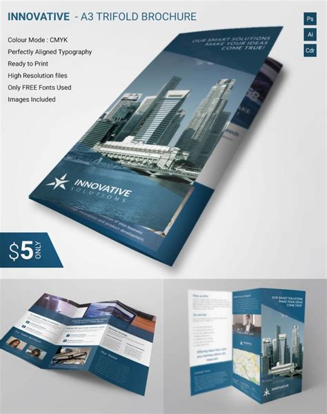 Service Brochure Template by 20 Best Free And Premium Corporate Brochure Templates