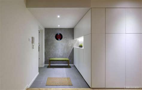 sitzbank flur betonoptik modernen flur gestalten 80 inspirierende ideen
