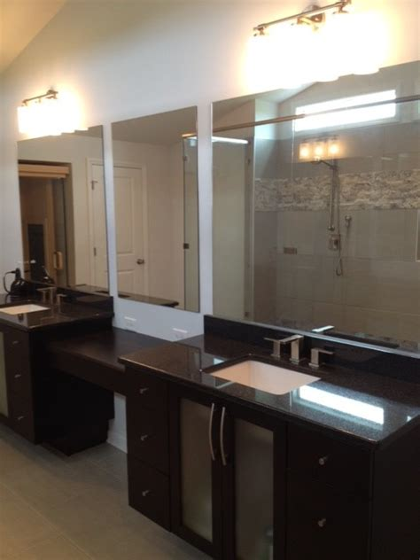 black granite bathroom impala black granite kitchen transitional with backsplash