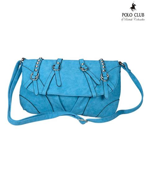 Sling Bag Club Bola buy polo club blue sling bag at best prices in india snapdeal