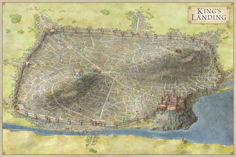 king s landing game of thrones king s landing fantastic maps