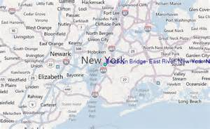 East River New York Map by Brooklyn Bridge East River New York New York Tide