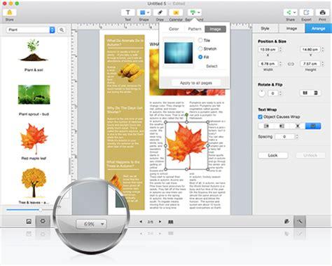 magazine layout software mac page layout design software for mac page layout software