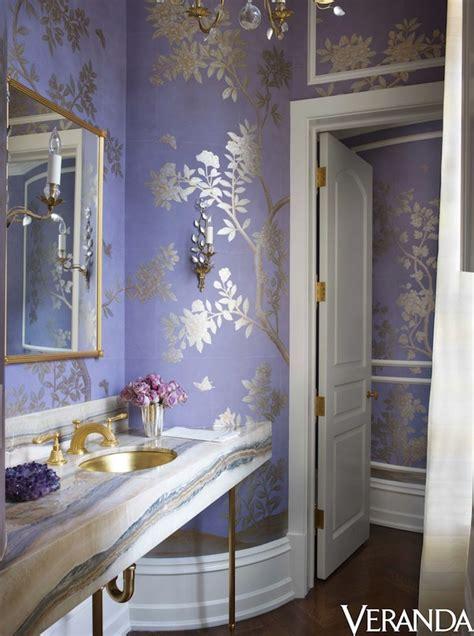 lavendar bathroom lavender and silver powder room interiors by color