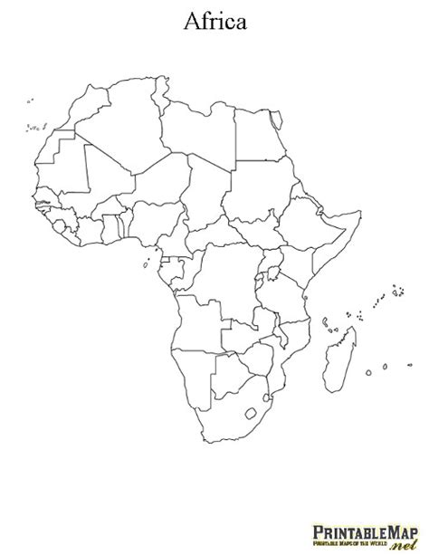 printable map africa countries printable map of africa continent map of africa