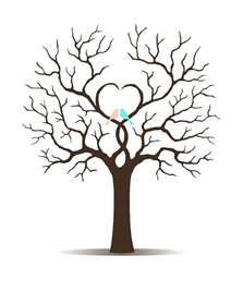 Tree Template by Fingerabdruck Baum Vorlage Andere Motive Kostenlos Zum