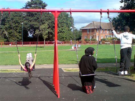swing in london park swings play route 79 journal