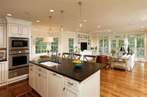 open kitchen floor plans with islands five beautiful open kitchen interior designs