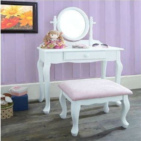 girls vanities for bedroom vanity set girls makeup dressing table stool mirror teen