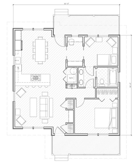 1000 sq ft floor plans house plans 1000 square studio design