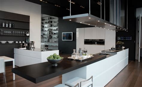 modern interior design styles high tech kitchen design