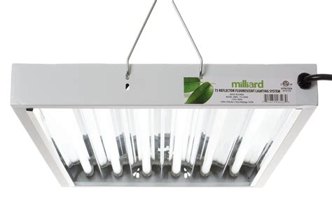 Plant Light Fixtures Milliard Ho T5 2 6 Bulb Fixture Review T5 Grow Light Fixtures