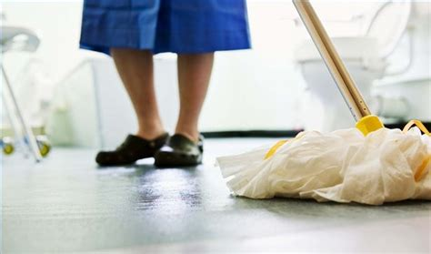 Mopping Bathroom Floor by Never Mop Your Floor Again