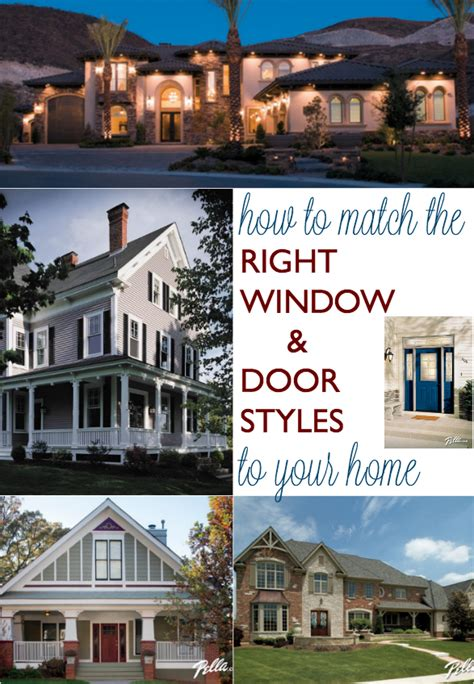 Pella Bow Windows how to match the right window and door styles to your home