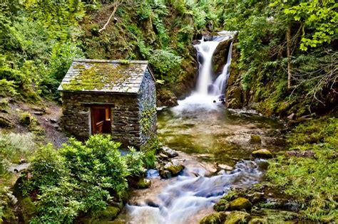waterfall cottage by darkosikman on deviantart