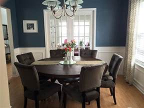 wonderful Small Great Room Decorating Ideas #2: adding-wainscoting-to-dining-room.jpg