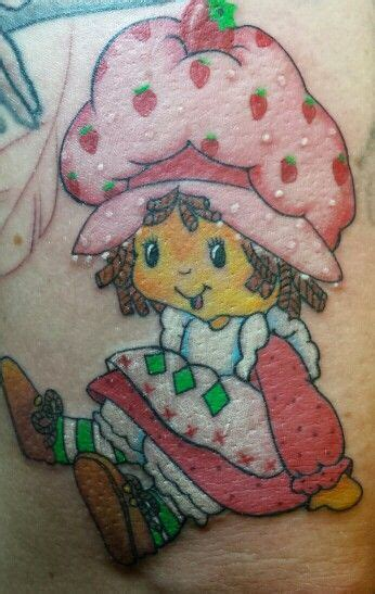 strawberry shortcake tattoo designs strawberry shortcake strawberries and tattoos and