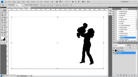 photoshop cs3 silhouette tutorial photoshop tutorial making a silhouette clipping path
