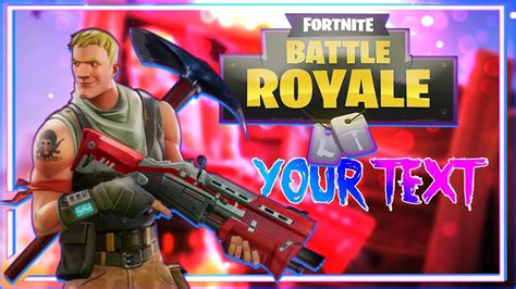 Fornite Battle Royale Thumbnail Template Photoshop 1 Youtube Fortnite Template
