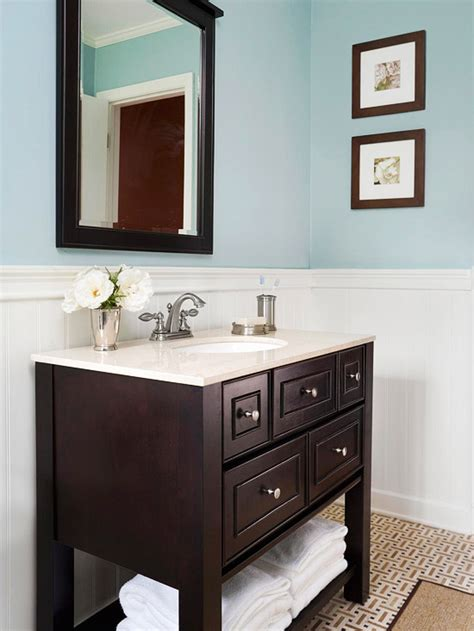 Small Bathroom Vanities Choosing The Right Vanity Better Homes And Gardens Bathrooms