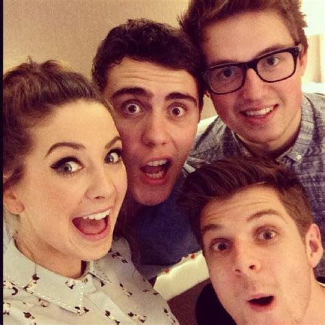 Or Zoella And Alfie Zoe Alfie And Jim Y O U T U B E