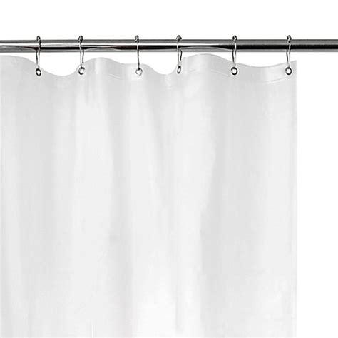 vinyl shower curtain liner eva vinyl shower curtain liner bed bath beyond