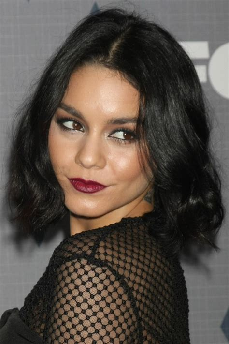 Hudgens Hairstyles by Hudgens Curly Bob Www Pixshark Images