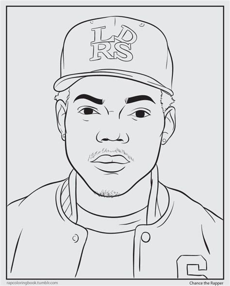 Coloring Book Free Chance The Rapper Coloring Pages Coloring Book Chance Stream L