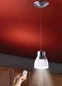 Battery Operated Pendant Lights The Battery Powered Led Pendant Light Gadgets Matrix
