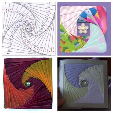 Paper Folding Techniques For Cards - 17 best images about iris folding papercraft on