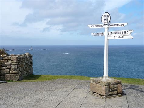 Land S End by Land S End Photofile Cornwall Images And Information