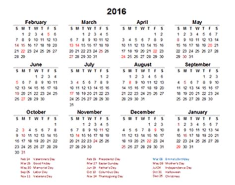 how to make a yearly calendar in excel 2010 customize excel calendar 2016 create your own excel