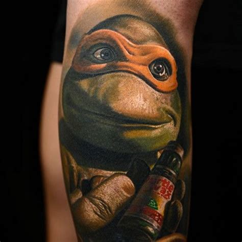 michelangelo tattoos the great nikko hurtado tattooed this portrait of known