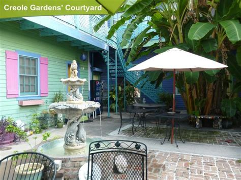 Creole Gardens by Courtyard Picture Of Creole Gardens Guesthouse Bed