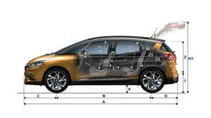 Renault Scenic Dimensions Dimensions All New Scenic Cars Renault Uk