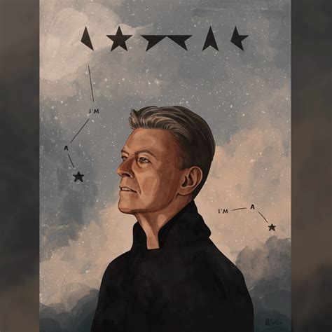 blackstar david bowie artists pay tribute to late david bowie 15 pics bored