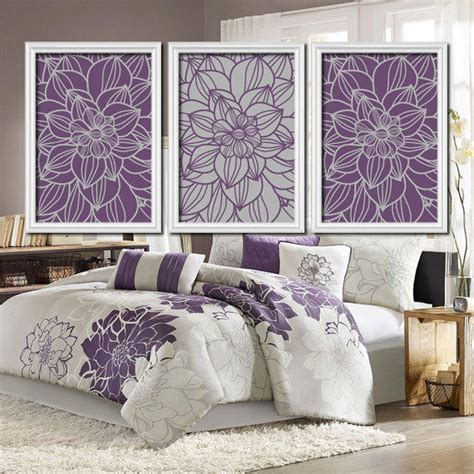 purple wall decor for bedrooms purple gray bedroom wall art bathroom from trm design 19572 | full size