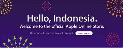 apple official store indonesia indonesia apple store up and running