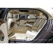 Bentley Mulsanne EWB First Edition Rear Cabin Auto China 2016