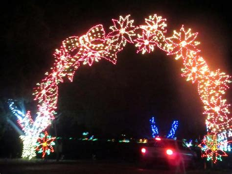 7th annual fantasy of lights vasona lake park los gatos