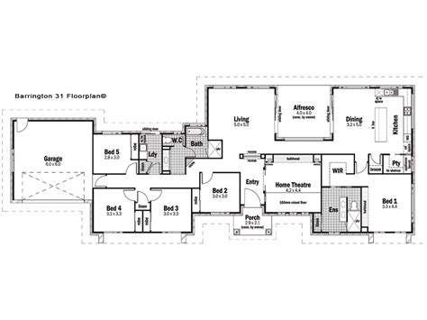 barrington floor plan barrington 31 design detail and floor plan integrity new