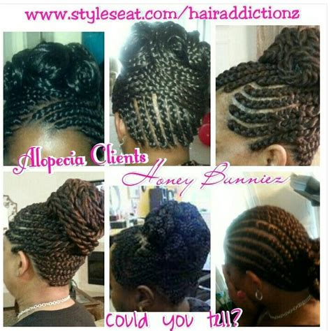 alopecia hairstyles  hair loss african american protective hair styles  crys