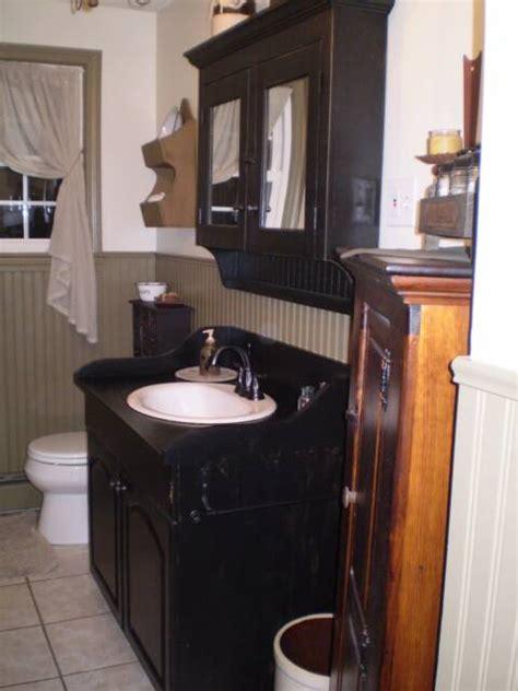 primitive bathroom vanity primitive bathroom vanities primitive place feb 2009